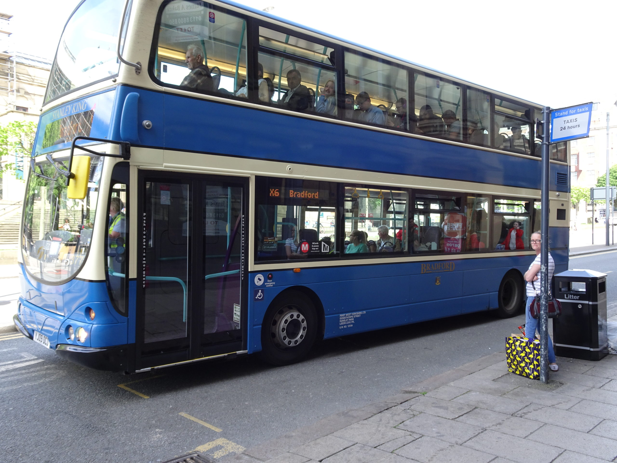bradford bus